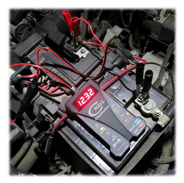 Probador Inteligente de Baterias Voltimetro 12v Digital CMALL MARKET
