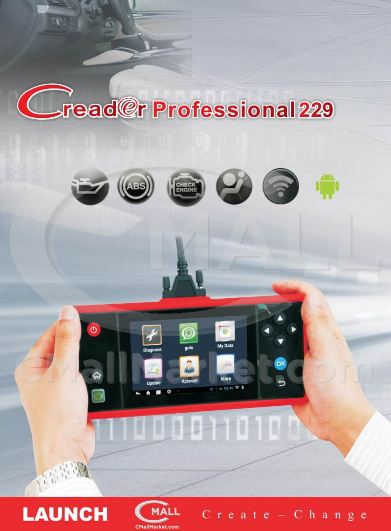 Launch CRP229 Full Systems CMALL MARKET
