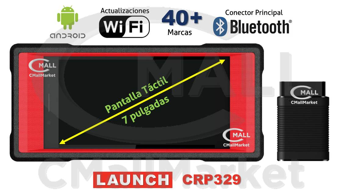 Scanner LAUNCH CRP329 Full Systems (Semi-Profesional)