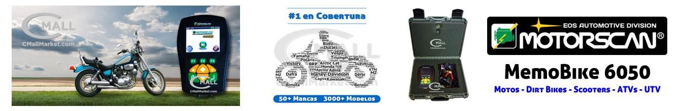 MOTORSCAN MEMOBIKE 6050 FULL SYSTEMS CMALL MARKET