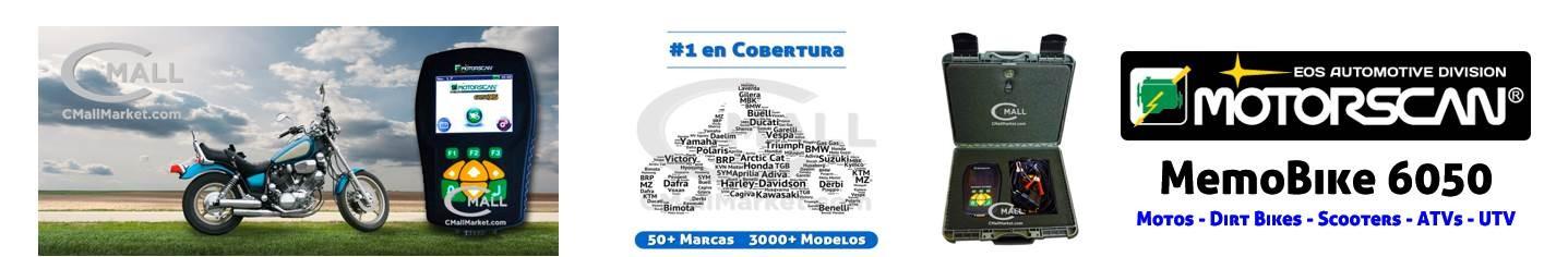 MOTORSCAN MEMOBIKE 6050 MULTIMARCA MULTI-SISTEMAS MOTOS CMALL MARKET