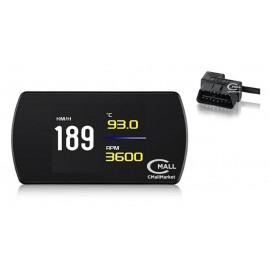 Monitor HUD y Computador de Viaje OBD2 CAN Indicadores Relojes Testigos CMP12