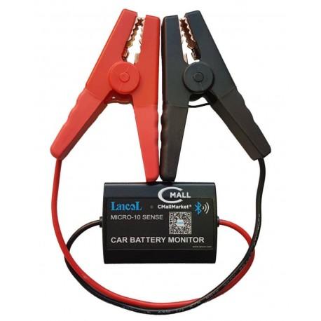Probador y Analizador de Baterias Bluetooth LANCOL MICRO-10 Voltimetro para Vehiculos 12V