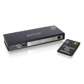 IOGear Selector Switch HDMI 4K 2K Full HD 1080p 720p 480p 4x1 Control Remoto