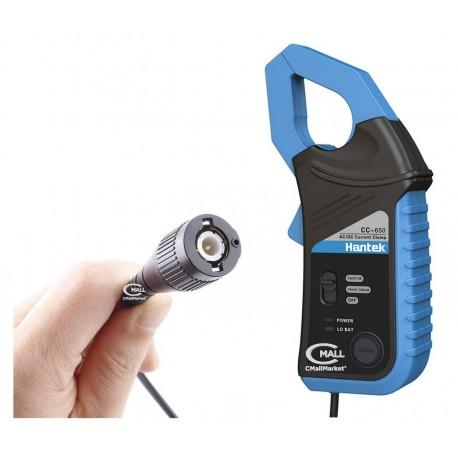 Pinza Amperimetrica HANTEK CC-650 para Osciloscopio