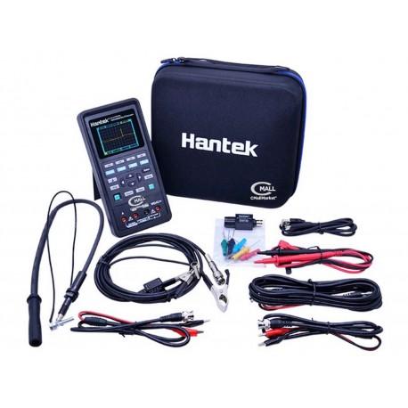 Osciloscopio Automotriz Portatil HANTEK 2D82Auto de 2 Canales con Multimetro Digital