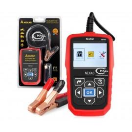 Analizador de Baterias NEXAS NexBat NB360 para Vehículos Livianos y Pesados 12V y 24V