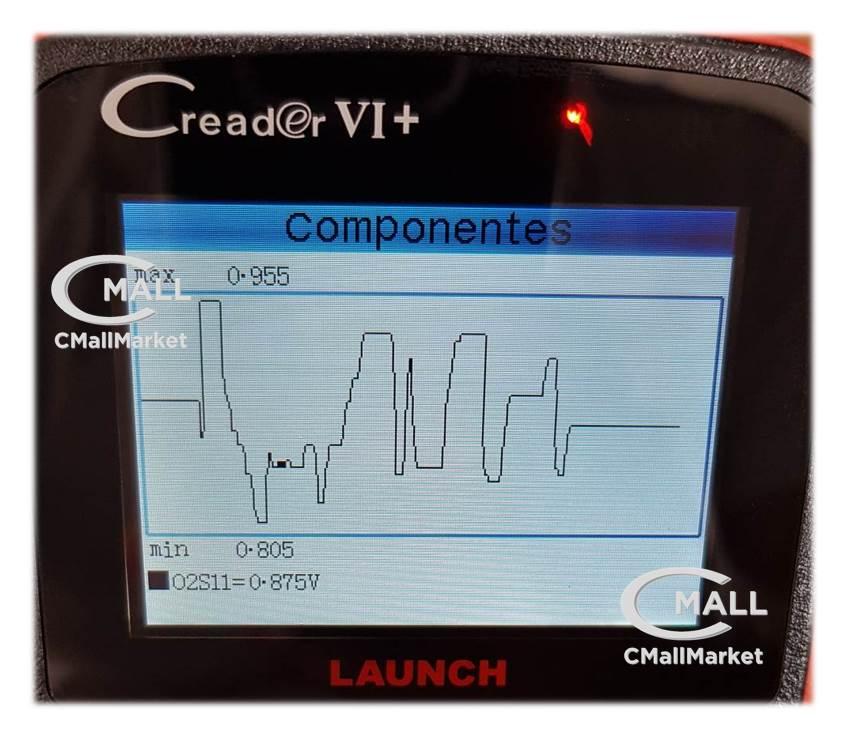 Scanner LAUNCH Creader VI+ OBD2 CAN JOBD para 12v y 24v CMALL