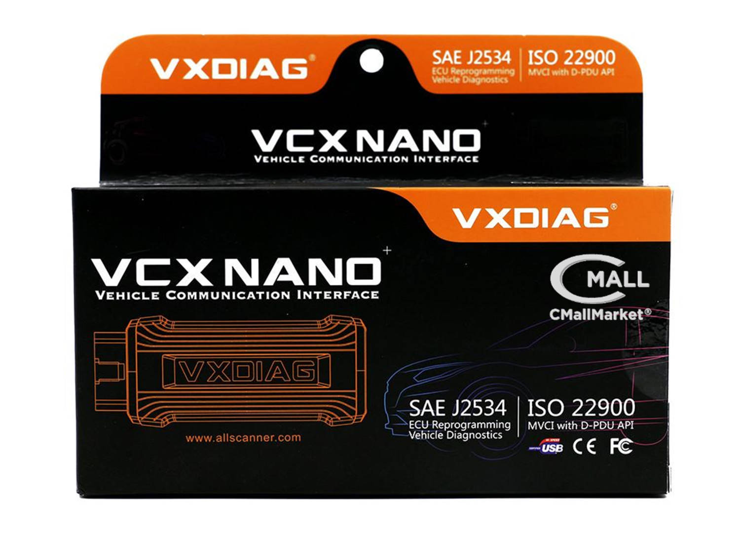 Interface VCX Nano GM Chevrolet Opel Alternativa MDI CMALL MARKET