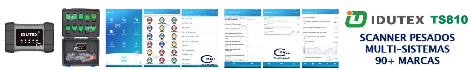 IDUTEX TS810 MULTIMARCA MULTI-SISTEMAS VEHICULOS PESADOS CMALL MARKET
